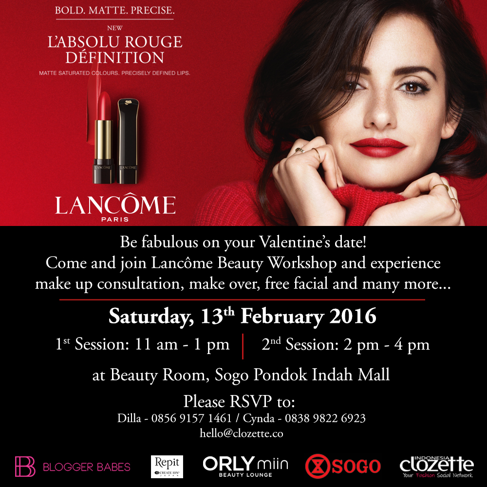 Event Story : Clozette Blogger Babes X Lancome & Orlymiin