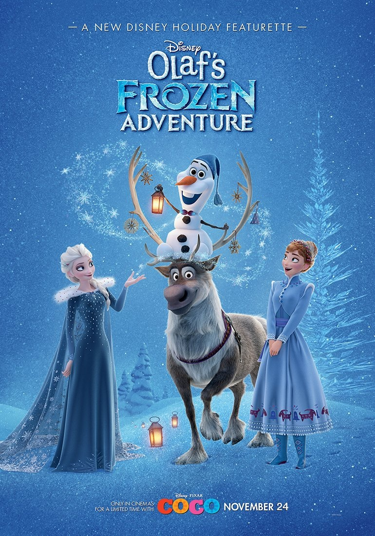 Olaf's Frozen Adventure + Trailer