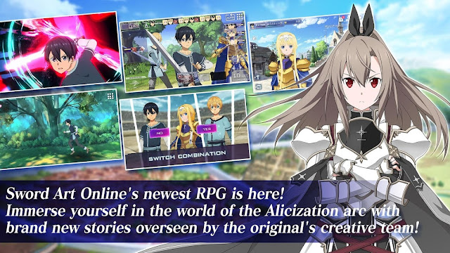 game Sword Art Online Alicization Rising Steel