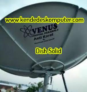 Antena Dish Solid LNB C-Band