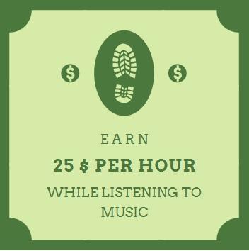 EARN $25 PER HOUR Make Money Listening to Music