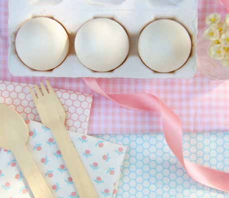 Nostalgia+Fabrics+Easter+Eggs+and+Fabric+Special Easter Inspiration | Gorgeous Product Packaging Photography Styling Inspiration from Nostalgia Organics