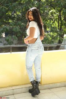 Neha Deshpande in Spicy Denim Jumpsuit and Whtie Crop Top March 2017 076.JPG