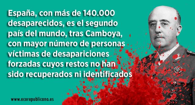 En Marea pide investigar la comisión de delitos por la Fundación Francisco Franco