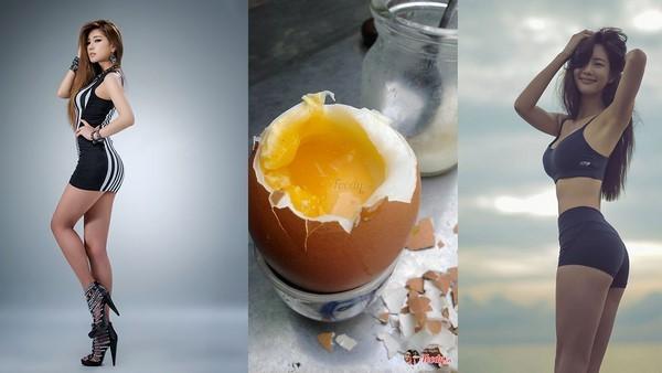 Ăn 2 quả trứng luộc/ngày, qua 20+ vẫn tăng được 10cm chiều cao, chân dài miên man