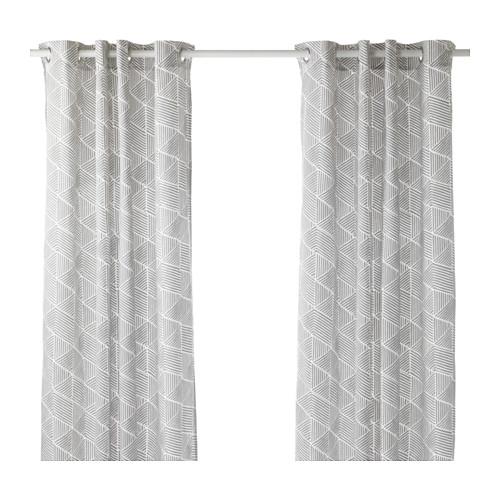 Bathroom Curtains Ikea On Pinterest Set Window Treatments