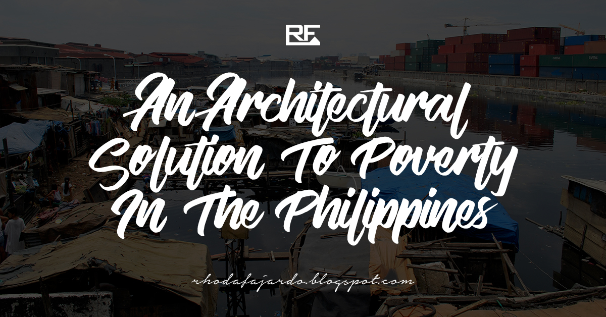 Architectural Solution To Poverty