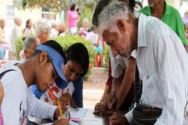 Hasta la fecha se han registrado 95% personas en el Plan Chamba Mayor