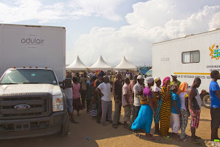 Mobile Clinics by http://odulair.com at work  delivering rural healthcare in Africa