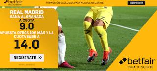 betfair supercuota liga Real Madrid gana Granada 13 julio 2020