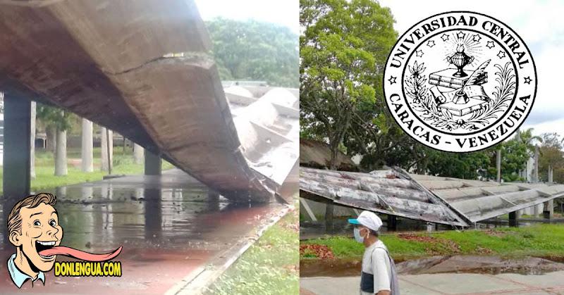 Falta de mantenimiento y corrupción hicieron caer el techo de la Universidad Central de Venezuela