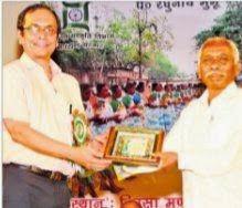 Mangal Majhi Sahitya Academy winner at RASCA