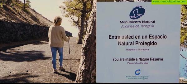 Medio Ambiente promueve el conocimiento de los Espacios Naturales de La Palma para reforzar su conservación