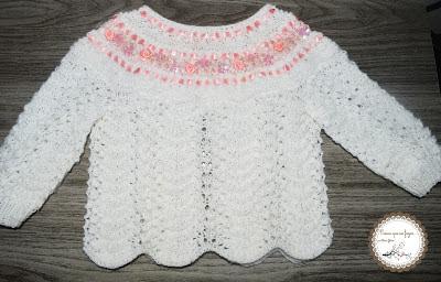 blusinha feita em trico