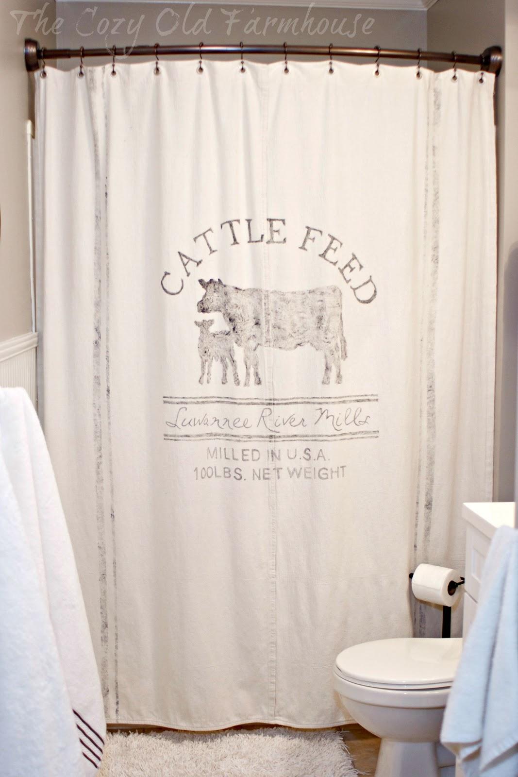 The Cozy Old Farmhouse KidsGuest Bathroom Farmhouse Makeover