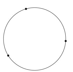 Como encontrar o centro de uma circunferência- passo 2