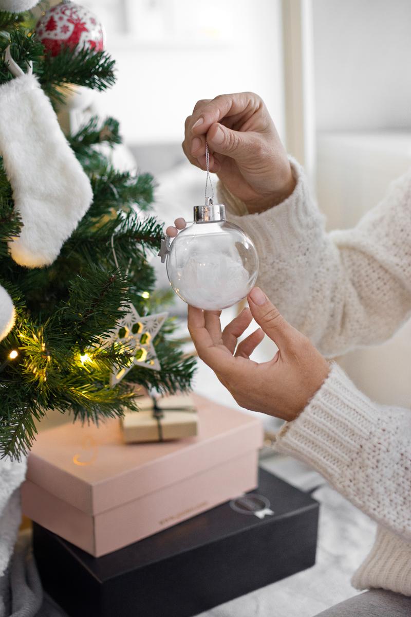 Decoración Árbol de Navidad de estilo nórdico / Nordic style Christmas tree decoration