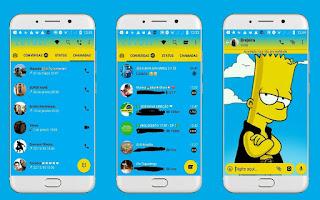 Bart 2 Theme For YOWhatsApp & Fouad WhatsApp By Leidiane