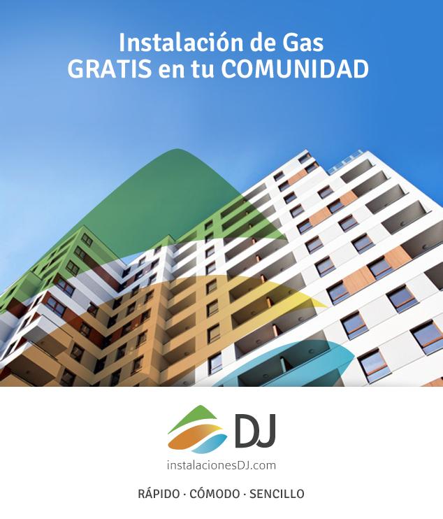 instalación de gas en comunidades de Zaragoza
