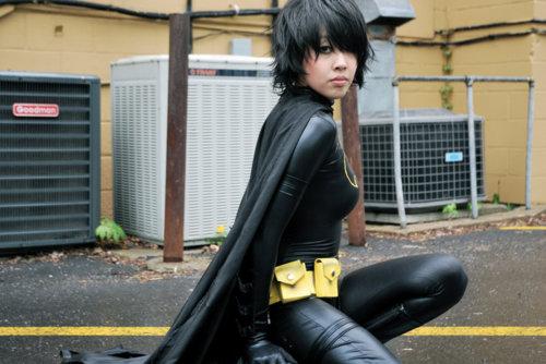 bat girl sexy cosplay