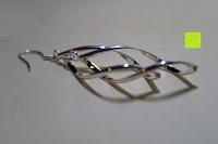 Seite: DeloveOhrhänger mit 2 fach gedrehten Spiralen Elementen, 925 Sterling Silber pl., Ohrringe, Damen Schmuck, Geschenk