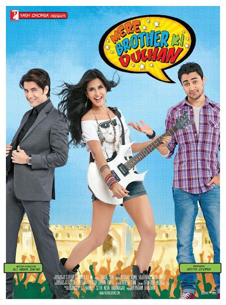 Poster Of Mere Brother Ki Dulhan 2011 720p Hindi BRRip Full Movie Download