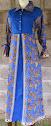 Abaya Dominiq Tri - Batik Modern