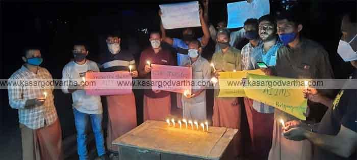 Kasaragod, Kerala, News, Kasargod flamed candles for aims