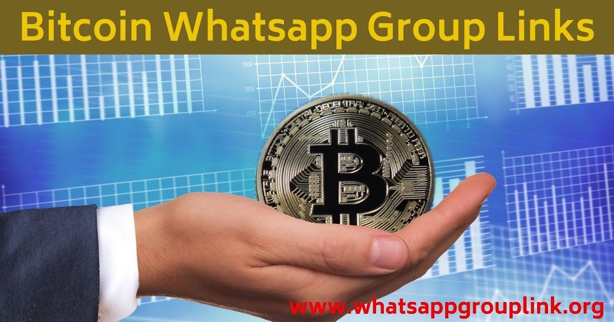 bitcoin kereskedési whatsapp csoport bitcoin fix ellátás