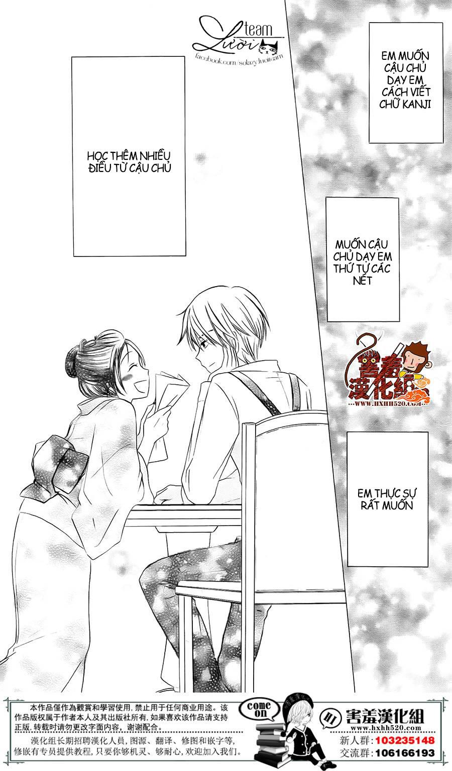 Haikei Mayumi-sama chap 3 - Trang 26