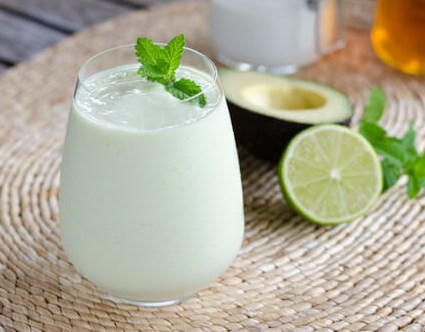 KEY LIME PIE SMOOTHIE (PALEO, KETO, VEGAN) #drinks #breakfast