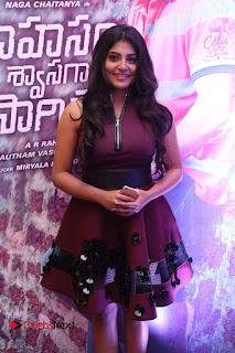 Actress Manjima Mohan Pictures at Sahasam Swasaga Sagipo Audio Launch  0071