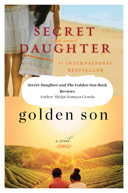 Double Book Review: The Secret Daughter and The Golden Son by Shilpi Somaya Gowda