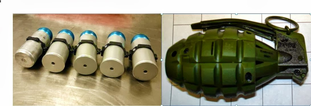 discovered replica grenades