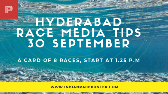 Hyderabad Race Media Tips, indiarace,  free indian horse racing tips