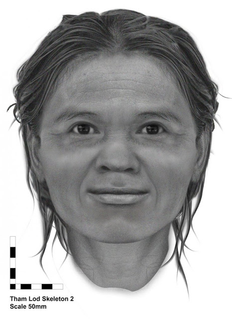 Face of Stone Age woman from Thailand's northern highlands revealed