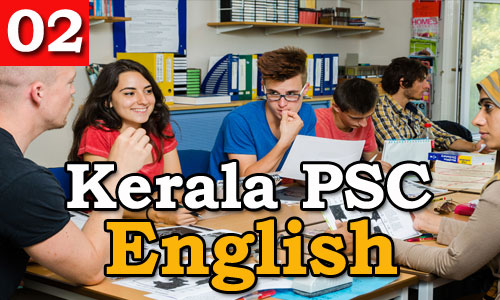 Kerala PSC - Model Questions English - 02