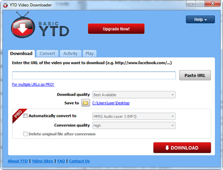 Download YTD Gratis - Youtube Downloader Free