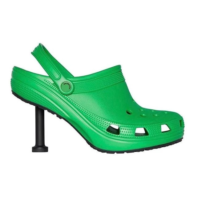 Balenciaga se une a Crocs para presentar los Stiletto Crocs