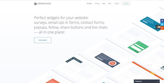 Blogger ve Diğer Platformlar İçin Harika Hizmetler Sağlayan GetSiteControl ve Kullanımı