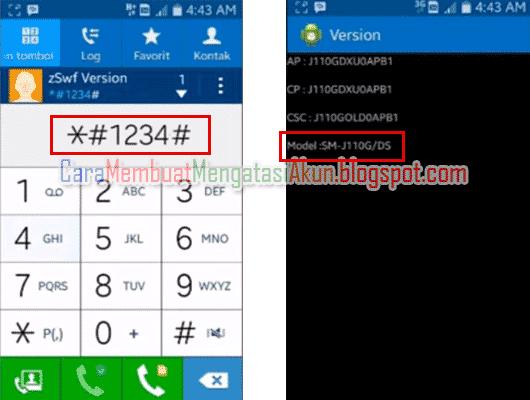 4 Cara Cek Tipe Hp Samsung
