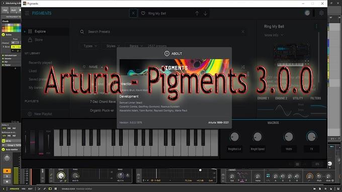 Pigments 3.0.0.1375 by Arturia - STANDALONE, VST, VST3, AAX, AUi x64 (macOS)