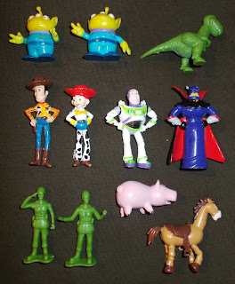 Alien Novelty Toy; Army Men; Armymen; Buzz Lightyear; Dinosaur Models; Emperor Zurg; Jessie; Lenny; My Busy Book; My Busy Books; My First Toy Figure; Phidal Toy Story; PVC Figurines; Rex; Slinky; Small Scale World; smallscaleworld.blogspot.com; Space Ranger; Toy Story Toys; Woodie; Zurg Toy;