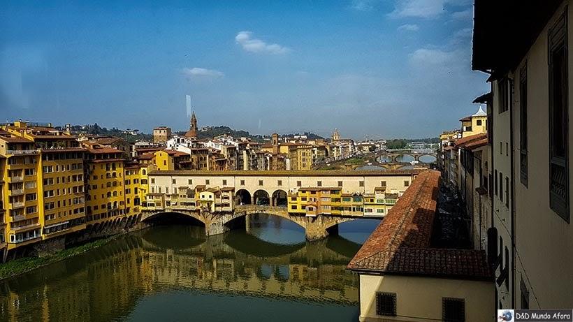 Ponte Vecchio - Diário de bordo: 2 dias em Florença