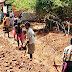 এমজিএনরেগায় সালকাহাম ভিলেজে উন্নয়নমূলক কাজ