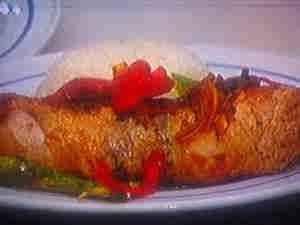 روستو الدجاج المخلى المحشو