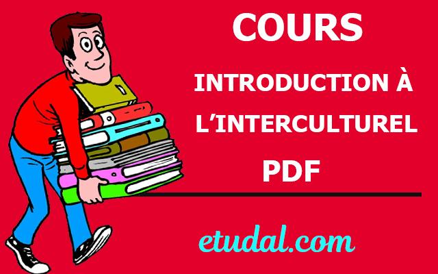 cours introduction à l'interculturel s2 pdf