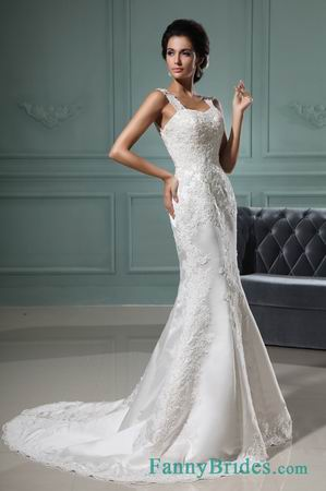 http://www.fannybrides.com/mermaid-straps-floor-length-organza-wedding-dress-with-appliques-wds332.html