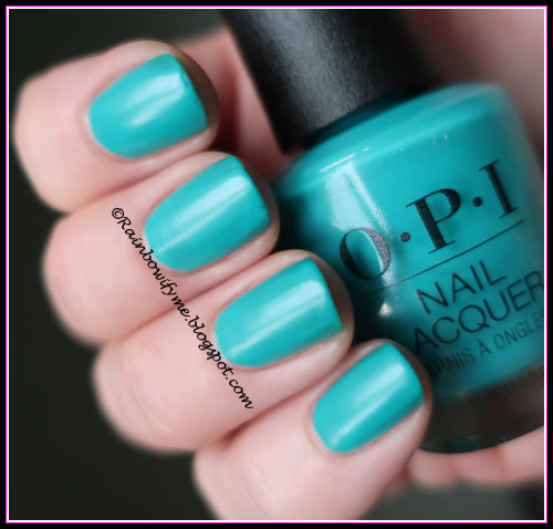 OPI ~ Dance Party Teal Dawn