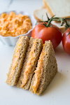 TOMATO TWIDDLE (TEA PARTY SANDWICHES)